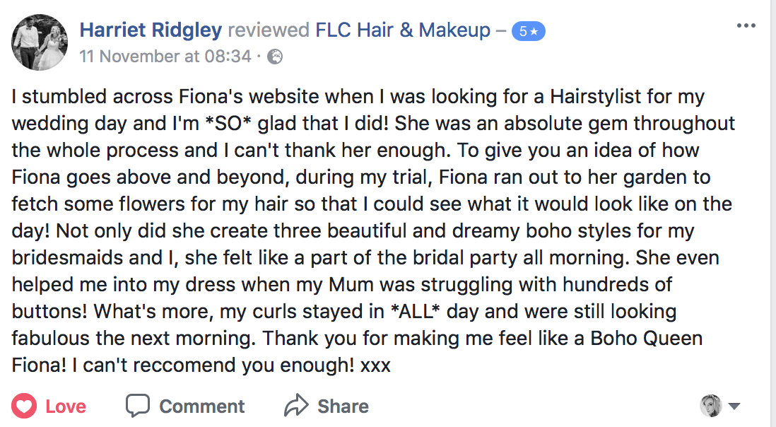 FLC Hair & Make up | Bridal Hair and make up Bournemouth Dorset