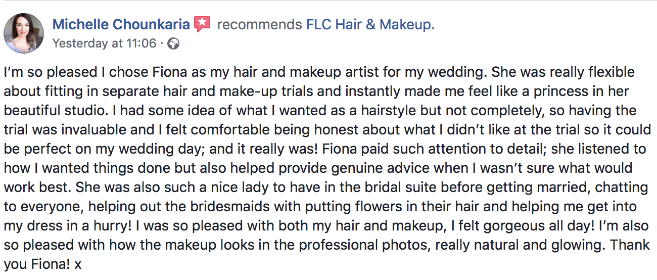 FLC Hair & Make up | Bridal Hair and make up  Dorset | Surrey | Berkshire | London | Wiltshire | Somerset